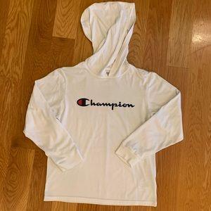 NWOT Champion Hooded Shirt